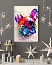 French bulldog color 11x17 Poster lifestyle-holiday-poster-1