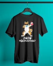 Dog Dabbing 2020 Classic T-Shirt lifestyle-mens-crewneck-front-3