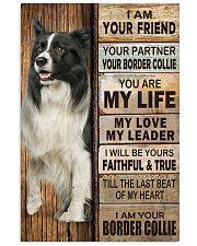 Border Collie partner 11x17 Poster thumbnail