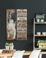Border Collie partner 20x30 Gallery Wrapped Canvas Prints aos-canvas-pgw-20x30-lifestyle-front-04