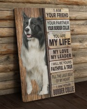 Border Collie partner 20x30 Gallery Wrapped Canvas Prints aos-canvas-pgw-20x30-lifestyle-front-19
