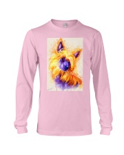 Chinese crested watercolor Long Sleeve Tee tile