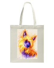 Chinese crested watercolor Tote Bag thumbnail