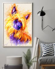 Chinese crested watercolor 11x17 Poster lifestyle-poster-1