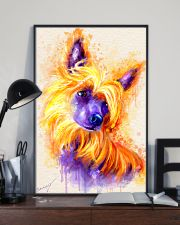 Chinese crested watercolor 11x17 Poster lifestyle-poster-2