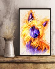 Chinese crested watercolor 11x17 Poster lifestyle-poster-3