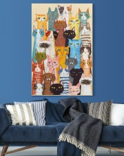 Cat Multi 20x30 Gallery Wrapped Canvas Prints aos-canvas-pgw-20x30-lifestyle-front-06