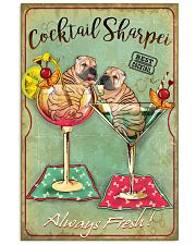 Shar Pei Cocktail 11x17 Poster front