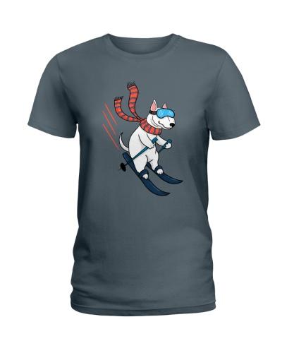 Bull Terrier Ski