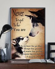 Husky Never Forget 24x36 Poster lifestyle-poster-2