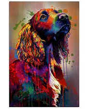 Cocker Spaniel Poster Water Color V9 2107 11x17 Poster front