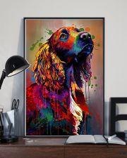 Cocker Spaniel Poster Water Color V9 2107 11x17 Poster lifestyle-poster-2