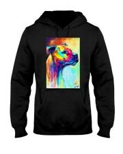 Staffordshire  Colorful Art Hooded Sweatshirt thumbnail