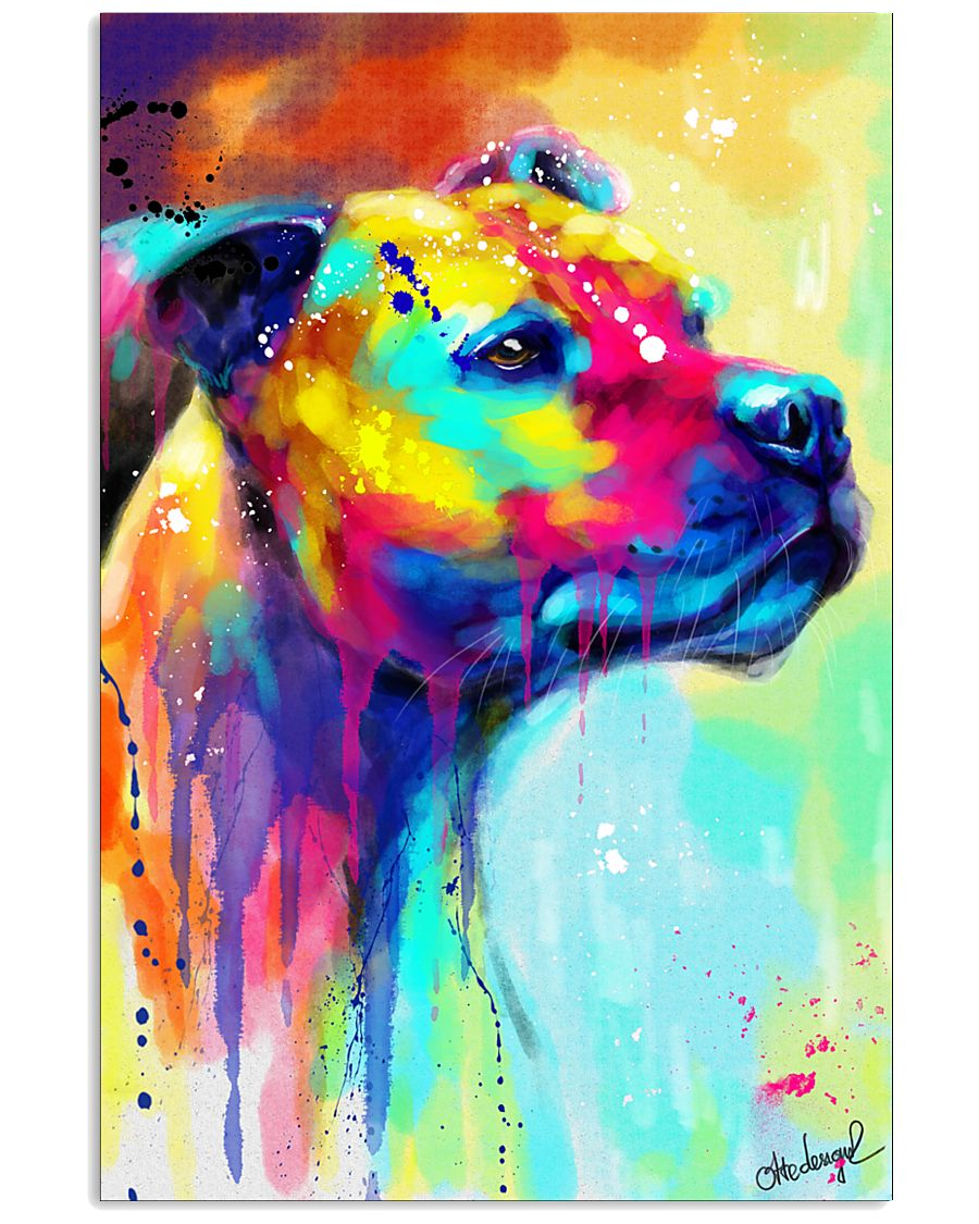 Staffordshire  Colorful Art 16x24 Poster