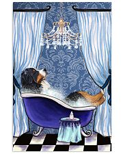 Bernese Mountain Bathroom 11x17 Poster front