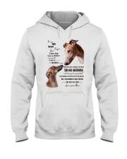 greyhound to my son Hooded Sweatshirt thumbnail