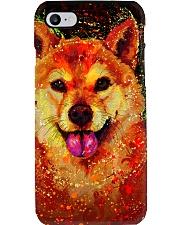 SHIBA INU HAPPY FACE POSTER Phone Case thumbnail