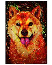 SHIBA INU HAPPY FACE POSTER 16x24 Poster front