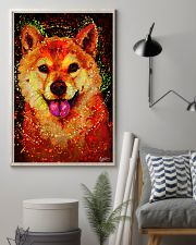 SHIBA INU HAPPY FACE POSTER 16x24 Poster lifestyle-poster-1