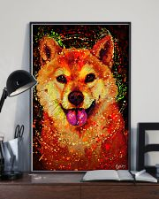 SHIBA INU HAPPY FACE POSTER 16x24 Poster lifestyle-poster-2
