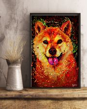 SHIBA INU HAPPY FACE POSTER 16x24 Poster lifestyle-poster-3