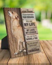 Chihuahua Partner 8x10 Easel-Back Gallery Wrapped Canvas aos-easel-back-canvas-pgw-8x10-lifestyle-front-02