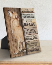 Chihuahua Partner 8x10 Easel-Back Gallery Wrapped Canvas aos-easel-back-canvas-pgw-8x10-lifestyle-front-03