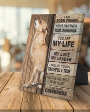 Chihuahua Partner 8x10 Easel-Back Gallery Wrapped Canvas aos-easel-back-canvas-pgw-8x10-lifestyle-front-04