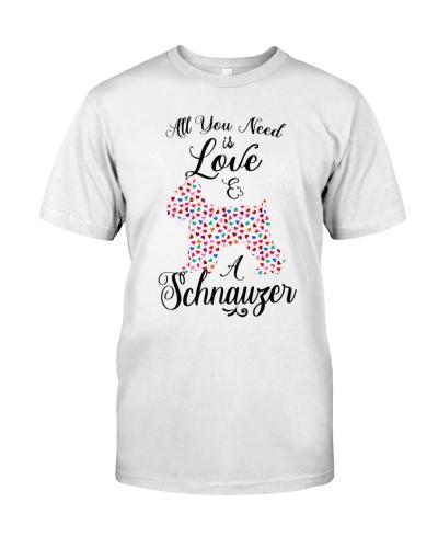 Schnauzer All I need Is love