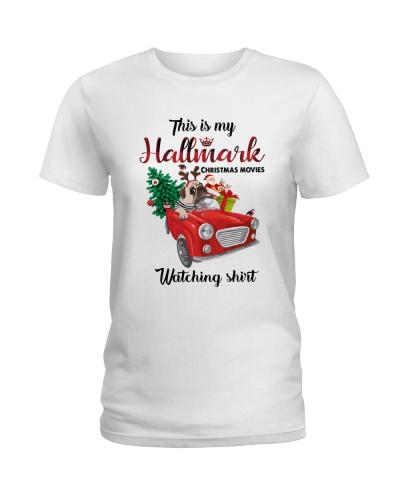 Dog Christmas hallmark