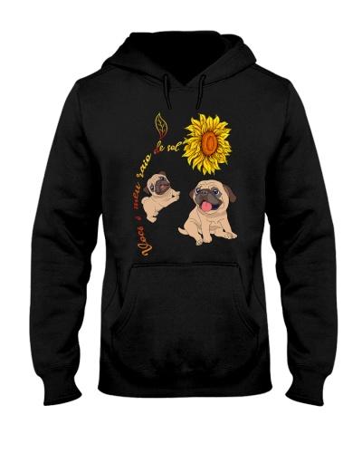 Pug Sunflower