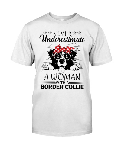 Border collie  Nerver Underestimate Woman