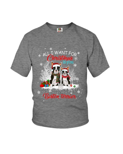 All I Want For Christmas Is You Boston Terrier