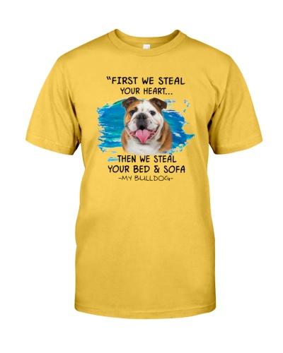 Bulldog First steal your heart