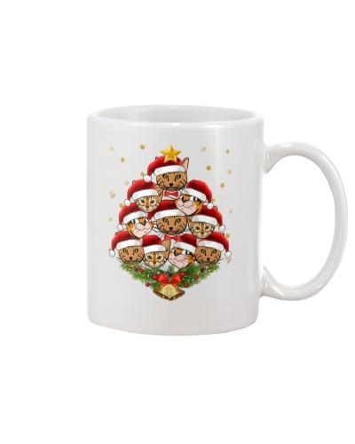 Bengal Cat Christmas Tree