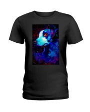 Jack Russell Water Color Art QW12 Ladies T-Shirt thumbnail