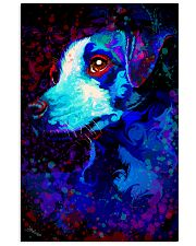 Jack Russell Water Color Art QW12 24x36 Poster front