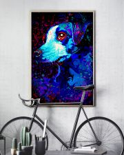 Jack Russell Water Color Art QW12 24x36 Poster lifestyle-poster-7