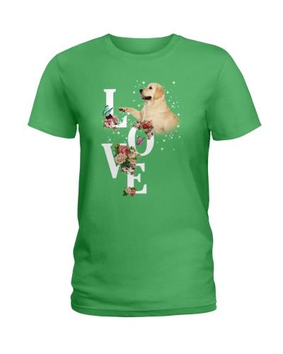 Labrador  Love Flower