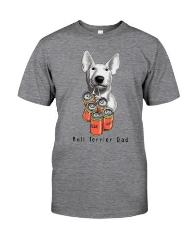 Bull Terrier Beer dad