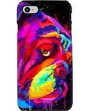 BullDog Poster Face Art V2 Phone Case thumbnail