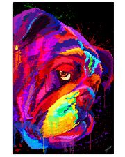 BullDog Poster Face Art V2 24x36 Poster front