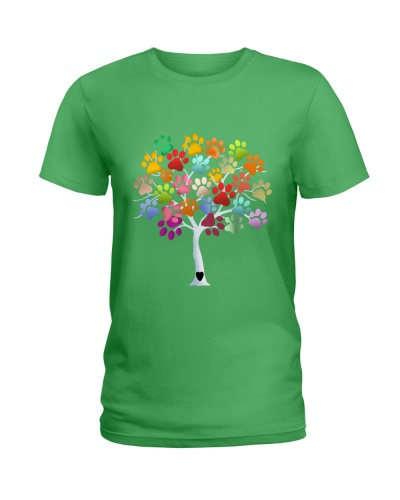 Dog Print Tree