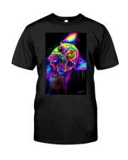 French bulldog Water Color Art Flow S10 Classic T-Shirt thumbnail