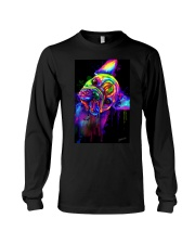 French bulldog Water Color Art Flow S10 Long Sleeve Tee thumbnail