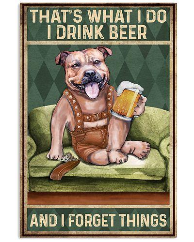 Staffordshire I drink beer