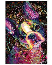 Boston Terrier Splash 11x17 Poster front