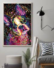 Boston Terrier Splash 11x17 Poster lifestyle-poster-1