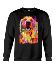 Golden Retriever Water Color Art J2 Crewneck Sweatshirt thumbnail