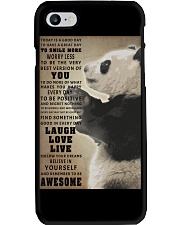 Panda poster Phone Case thumbnail